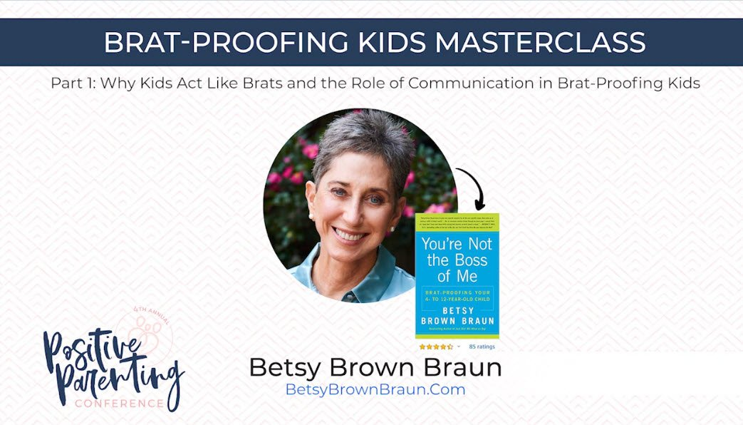 Betsy Braun Brown on a Positive Parenting Presentation.